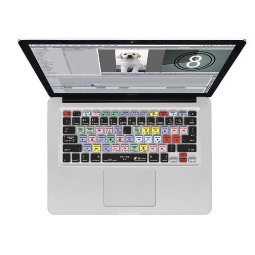 Y Final Cut Pro/Express Keyboard Cover for MacBook (FC-M-QY-2)
