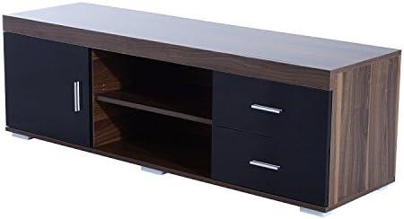 HOMCOM Mueble de Comedor para TV Soporte de Televisor 140x40x45cm ...