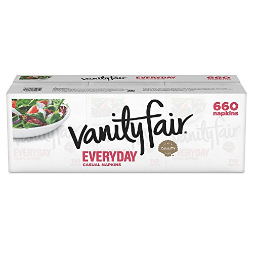 Large Product Image of Vanity Fair Everyday Napkins, White, 660 Count