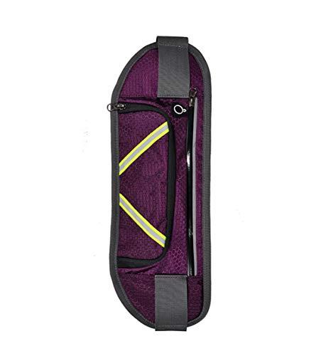 A Tracolla Running Monospalla Spalla Mini Borraccia Smartphone Sport Bag Borsa Skitor Nylon Waist Donna Casual Uomo Impermeabile Marsupio Multifunzione Zaino Ciclismo Viola Cintura aqxAwZEgv