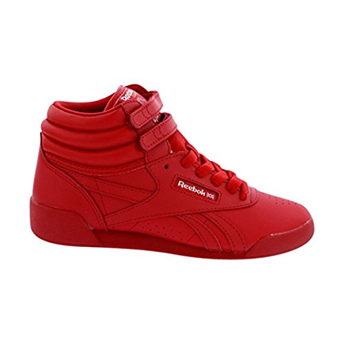 Reebok Freestyle Sneakers (Infant/Toddler/Little Kid),Red/s,10