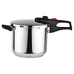Magefesa Practika Plus Stainless Steel 8 Quart Super Fast Pressure Cooker