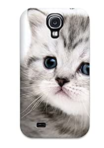 Galaxy S4 Case, Premium Protective Case With Awesome Look - Cat