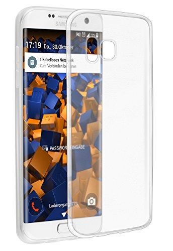 mumbi UltraSlim Hülle für Samsung Galaxy S7 Edge Schutzhülle transparent (Ultra Slim - 0.55 mm)