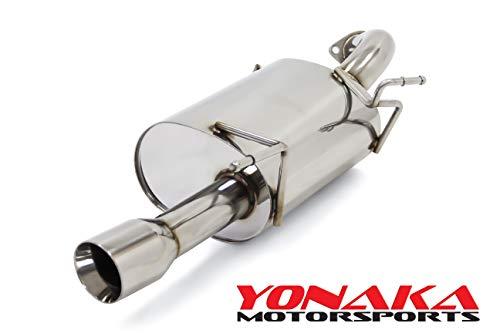 Yonaka 2012-2017 Mitsubishi Lancer Axleback Exhaust (2.0L)