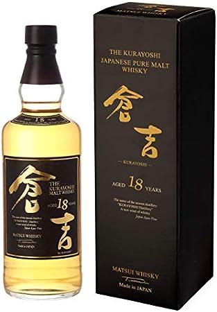 Kurayoshi Pure Malt Whisky 18 Años 70Cl 50% - 700 ml