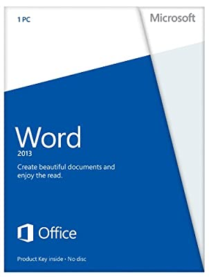 Microsoft Word 2013 (1PC/1User)