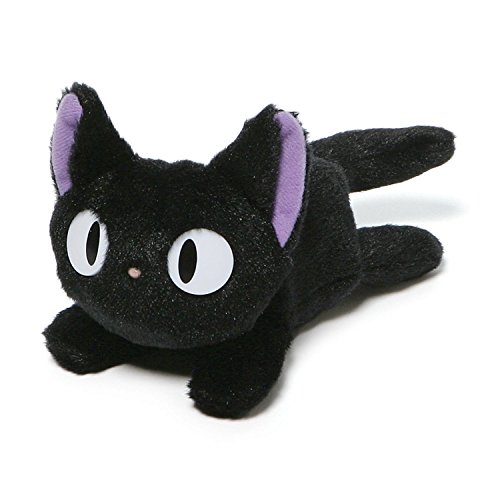 GUND Kikis Delivery Service Jiji Beanbag Cat Stuffed Animal Plush, 6.5