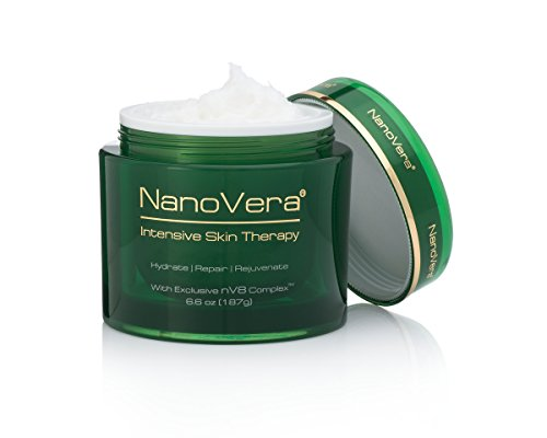 Intensive Night Therapy - NanoVera Intensive Skin Therapy Anti-Aging Moisturizer Cream and Serum for Dry Skin, 6.6 oz