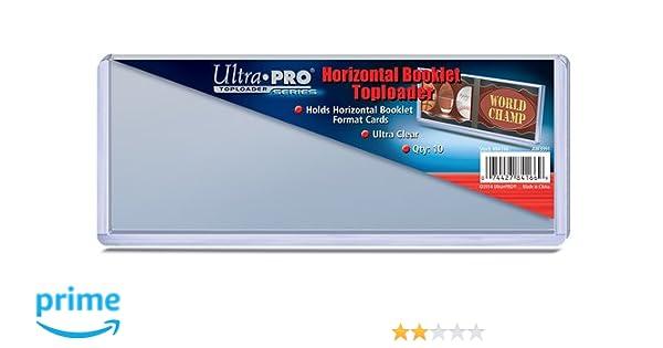 Amazon sp images inc ultra pro horizontal booklet card