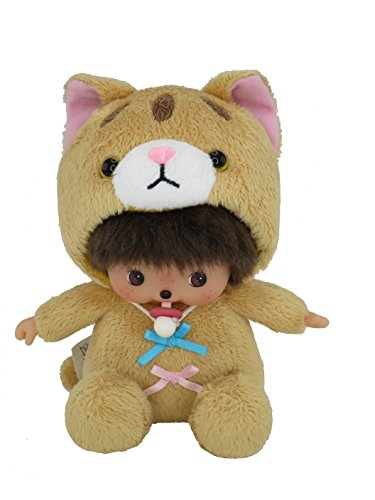 Monchhichi Cat Bebichhichi Tiger Cat Plush