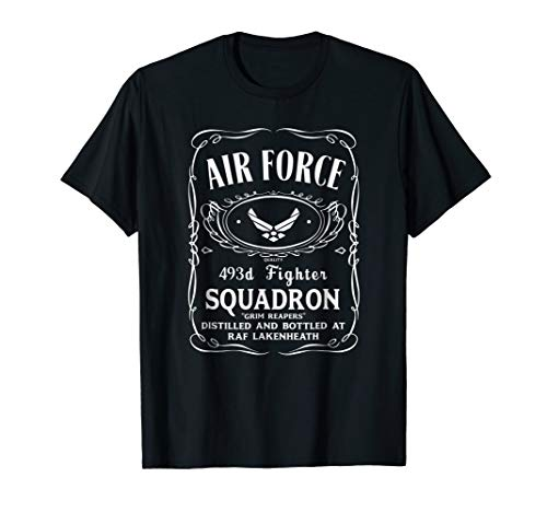 Air Force 493rd Fighter Squadron Shirt