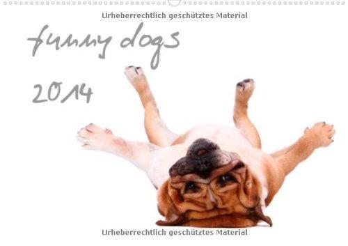 funny dogs 2014 (Wandkalender 2014 DIN A4 quer): lustige Hunde (Monatskalender, 14 Seiten)