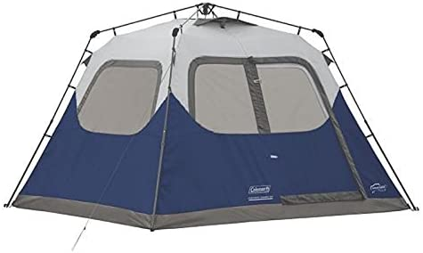 low priced e12a4 89494 Coleman 6-Person Instant Tent Blue