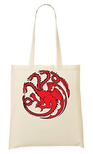 Bandiera Borsa Game Thrones Bag Targaryen Acquisto Of Della axtwtqTzP