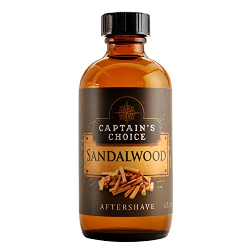 Sandalwood Aftershave 4oz after shave by Captain's Choice by Captain's Choice Captain' s Choice