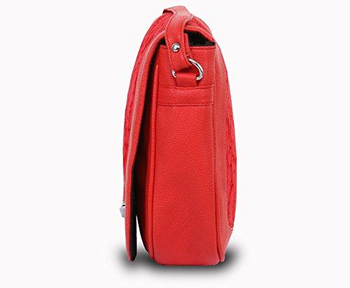 Pick Pocket, Borsa a tracolla donna Rosso rosso