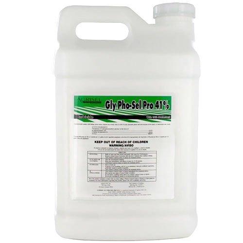 1 Gal Agrisel Gly Pho-sel Pro 41% Glyphosate + Surfactant Mks 64 Gls Weed Killer' Not for sale to: California