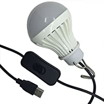 USB Lamps USB LED Light,portable LED Bulbs ,Emergency Light bulbs for Camping,Fishing (daylight)