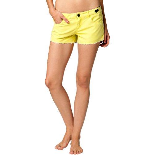 Fox Racing Syren Boardie Girls Boardshort Beach Swim Shorts - Day Glo Yellow / Size 3