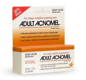 Acnomel acné adulte médicaments Cream - 1.3 Oz