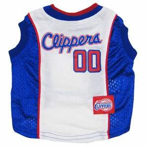 Los Angeles Clippers NBA dog pet tank jersey XS 4-9 lbs by pf