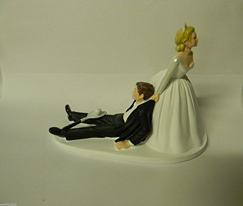 Wedding party reception Sports Tennis Racket and Ball Player Cake Topper