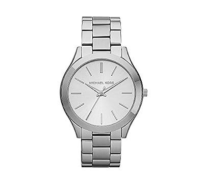 Michael Kors Women's 42mm Stainless Steel Slim Runway Bracelet Watch