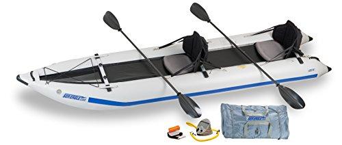 Sea Eagle 435PS Inflatable Paddleski / Catamaran / Kayak - Pro Carbon Package
