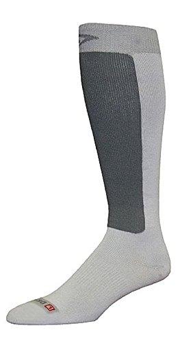 Lt Grey//Grey DryMax Ultra Thin Skiing Over Calf W7.5-9.5 M6-8
