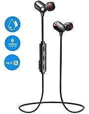 EKSA Bluetooth Kopfhörer in Ear, Kopfhörer Sport V4.2 mit Ap