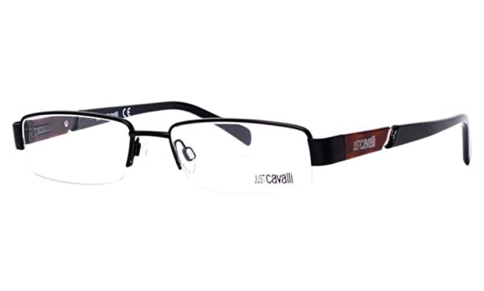 Amazon.com: Just Cavalli JC 0294 Black Brown (002) mitad ...