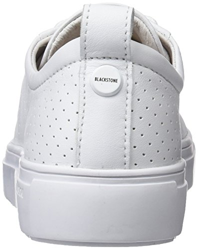 Zapatillas Mujer Weiß White para Pl94 Blackstone Sgxw5q4a4