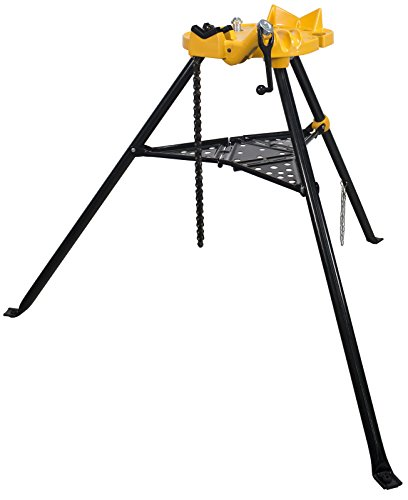 - Steel Dragon Tools 460 6in. Tripod Pipe Chain Vise Stand fits RIDGID 72037 36273