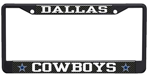 Stockdale Dallas Cowboys NFL Laser Chrome Metal License Plate Frame Tag Holder … -