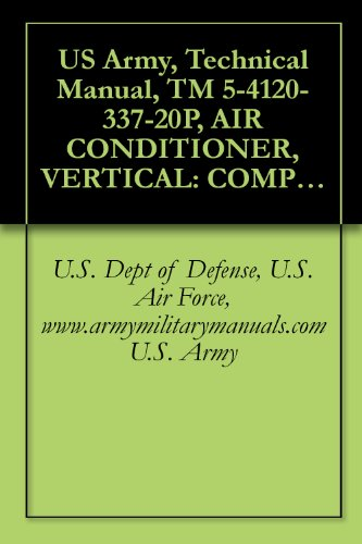 US Army, Technical Manual, TM 5-4120-337-20P, AIR CONDITIONER, VERTICAL: COMPACT, SELF-CONTAINED AIR COOLED, ELECTRIC MOTOR DRIVEN, 115 V, AC, 50/60 HZ, ... (FSN 4120-935-1609), military (Vertical Compact)
