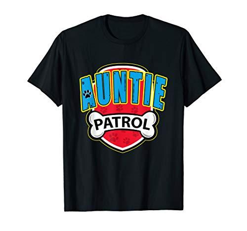Funny Auntie Patrol T-Shirt - Dog Mom T-Shirt ()