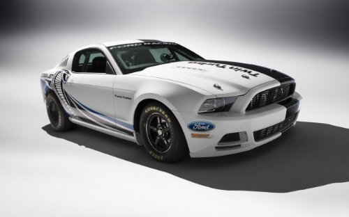 (Ford Mustang Cobra Jet Twin Turbo Concept 24X36 Poster Photo Banner)