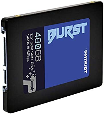 Patriot Memory Burst Disco sólido Interno de 480 GB, SATA III SSD ...