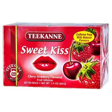 (Teekanne Fruit Seduction Sweet Kiss Tea / 20 Tea Bags / 60g / 2.1oz.)
