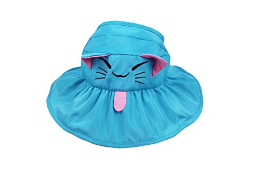 Bob En voyage Mignon Enfant Chat Soleil Motif Plage Vide Coton De Anti uv Pêcheur Calotte Acvip Ciel Bleu Hat Casquette Chapeau fZwOnxUUq