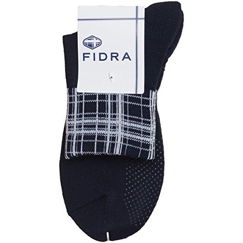 フィドラ FIDRA 靴下 ショートソックス ネイビー フリー