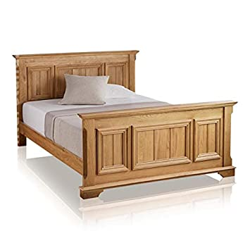 finest selection 994bf ec1bd Edinburgh Natural Solid Oak 6ft Super King-Size Bed: Amazon ...