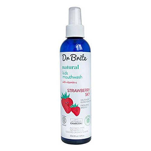 DR. BRITE KID'S STRAWBERRY CLEANSING MOUTH RINSE SPRAY 8 FL. OZ.