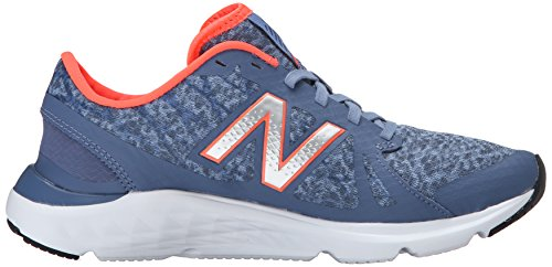 New Balance Womens W690V4 Running Shoe Grey/Orange