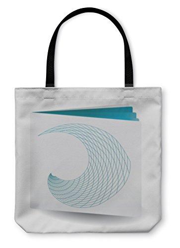 Catalogue Booklet - Gear New Shoulder Tote Hand Bag, Blue Catalogue, 18x18, 5812498GN