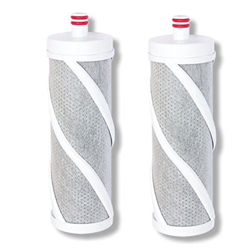 (Mooldokebi Water Filter System, Refill Filter Cartridge Best Type ACF Filter 2PCS (Active Carbon Fiver) Water Filter, Old pipe Remover Rust,Residual chlorine and Harmful substances)