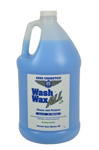 Waterless Car Wash & Wax 128 oz. Aircraft Quality Wash Wax for your Car RV & Boat. Guaranteed Best Waterless Wash on the Market by Aero Cosmetics