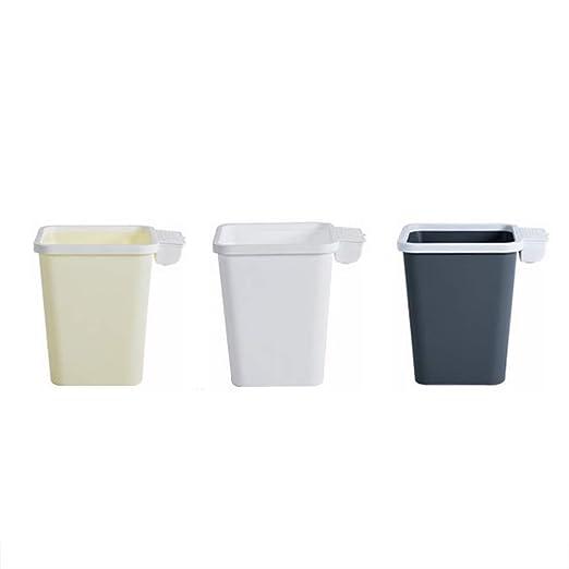 TYI Bote de Basura de plástico de Primera Calidad, con ...