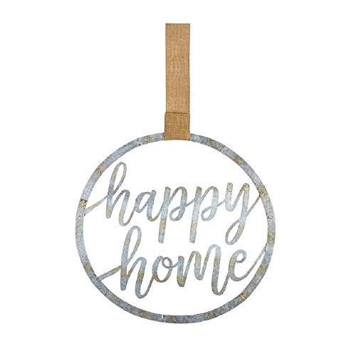 (Mud Pie Happy Home Tin Door)
